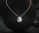 Picture of Om Diamond Pendant
