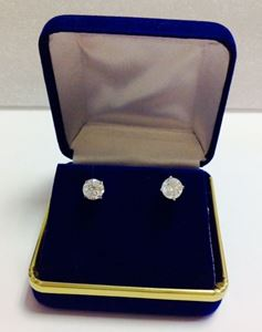 Picture of Large Solitaire Diamond Studs